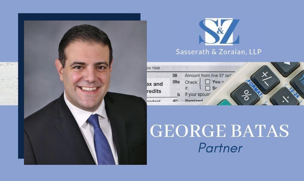 S&Z Welcomes George Batas as Partner