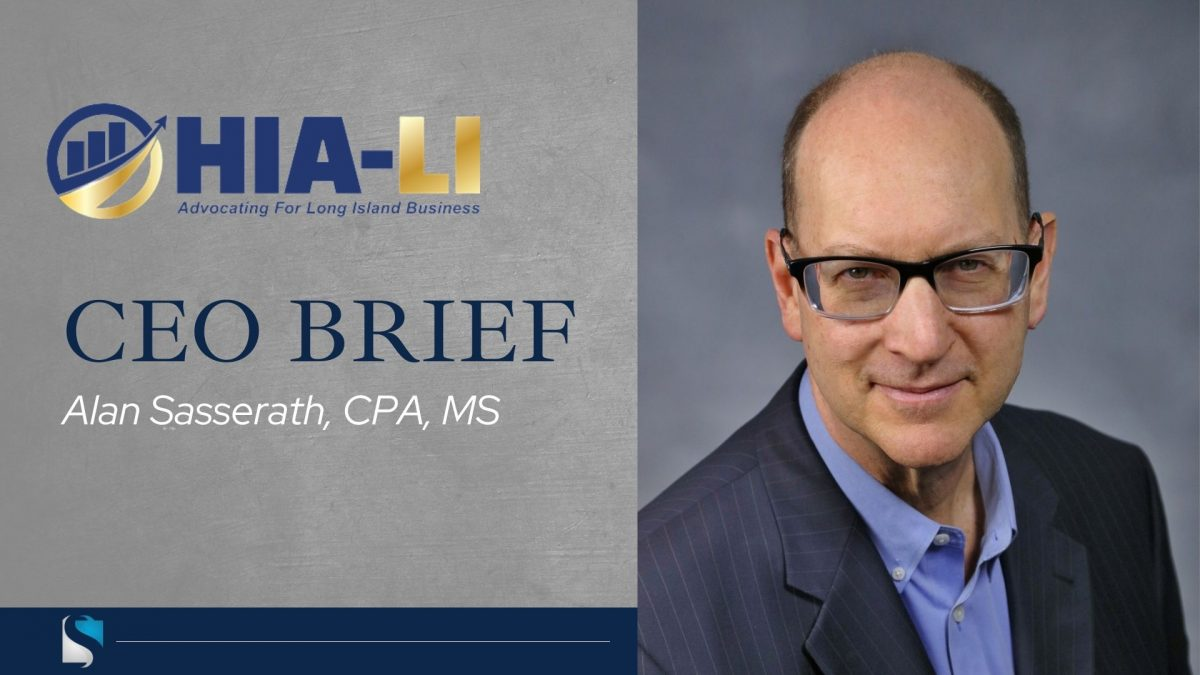CEO Brief: Alan Sasserath Spotlighted in HIA-LI Reporter
